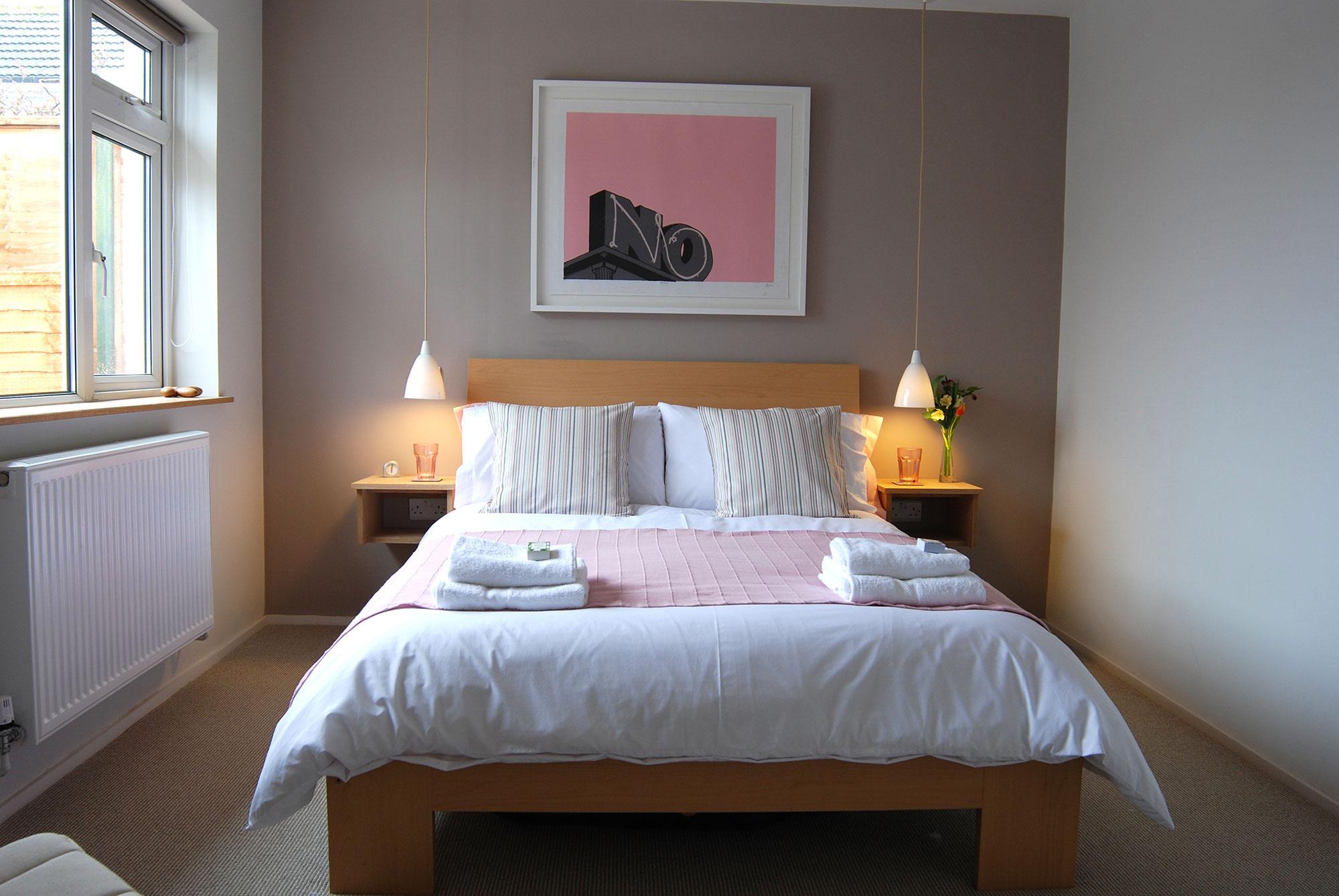 Building Modernization at Gwelanmor bedroom